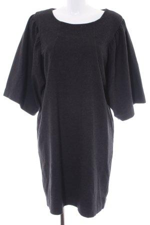 COS Vestido de lana taupe estilo sencillo