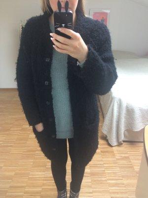 COS Wollmantel schwarz
