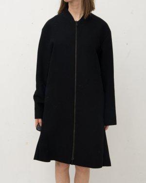 COS Manteau en laine noir