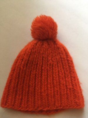 COS Knitted Hat multicolored
