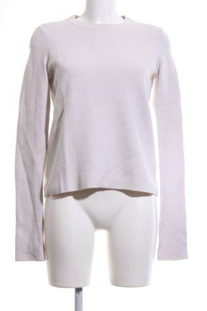 COS Maglione di lana bianco sporco stile casual