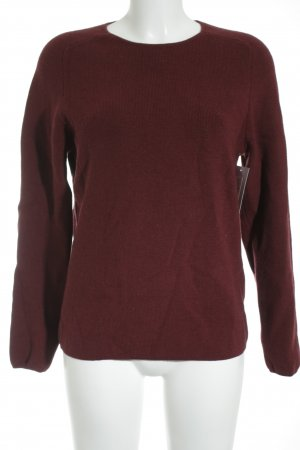 COS Wool Sweater bordeaux-carmine casual look