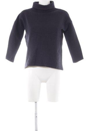 COS Wool Sweater dark blue casual look