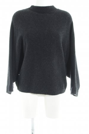 COS Wollpullover dunkelgrau Casual-Look