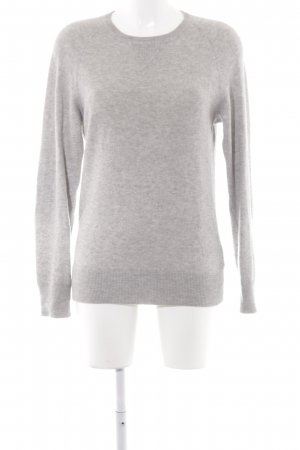 COS Wollpullover grau Casual-Look