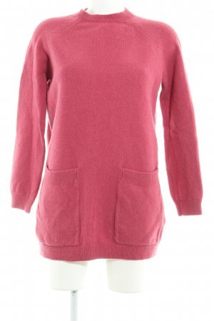 COS Wollpullover magenta Casual-Look