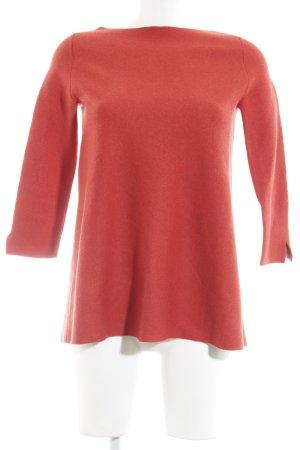 COS Wollpullover rot schlichter Stil