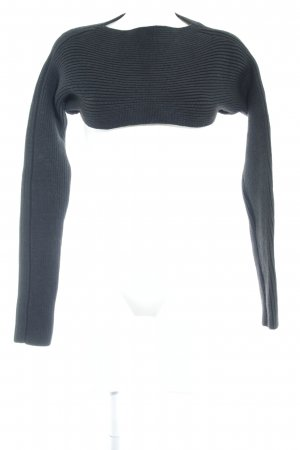 COS Wollpullover schwarz Casual-Look