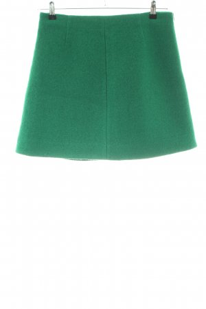 COS Wool Skirt green casual look