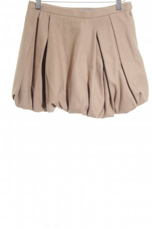 COS Wool Skirt camel casual look