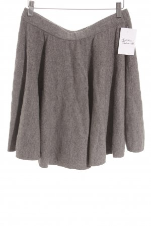 COS Jupe en laine gris style simple