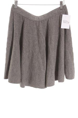 COS Wollrock grau schlichter Stil