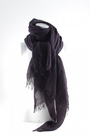 COS Woolen Scarf dark violet simple style