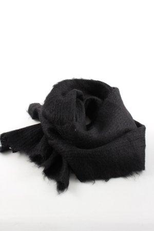 COS Wollen sjaal zwart casual uitstraling