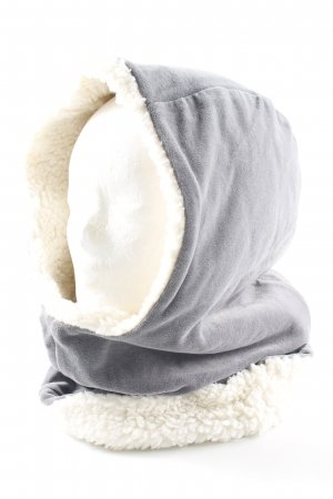 Cosima Chapeau en tissu gris molletonné