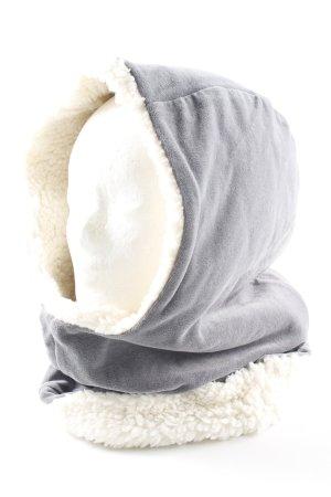 Cosima Sombrero de tela gris mullido