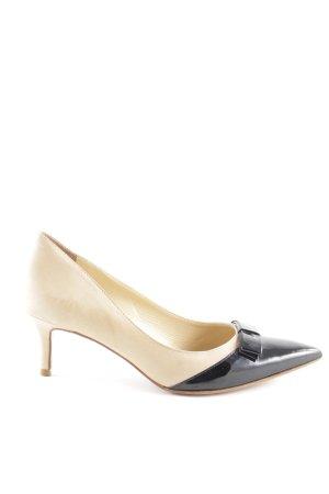 Cosmoparis High Heels beige-schwarz Elegant