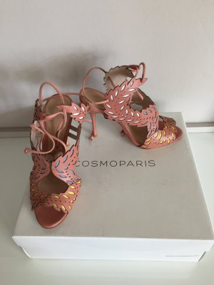 Cosmoparis High Heel Sandal multicolored leather