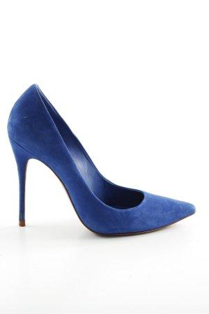 Cosmoparis Pointed Toe Pumps blue elegant