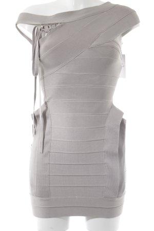 Costa Blanca Minikleid hellgrau extravaganter Stil