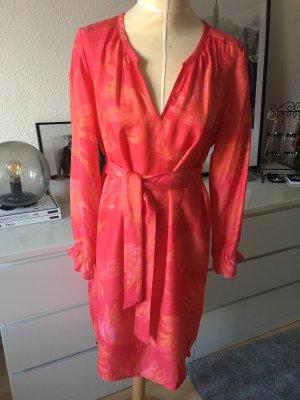 Coster Copenhagen Robe tunique multicolore cupro