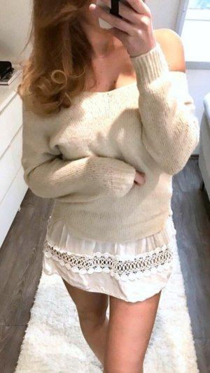 Costes Pullover Strick Oversize Oneshoulder Zara Style H&M Sweatshirt