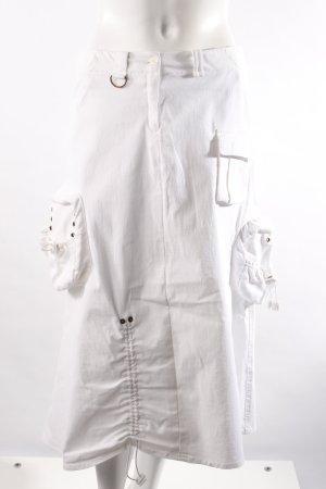 Costume International Midirock weiß