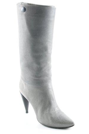 Costume National Absatz Stiefel grau-schwarz Elegant