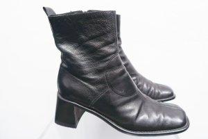 Costume National, Ankle Boots, Stiefelette,Blockabsatz, 38,5-Gr. 39