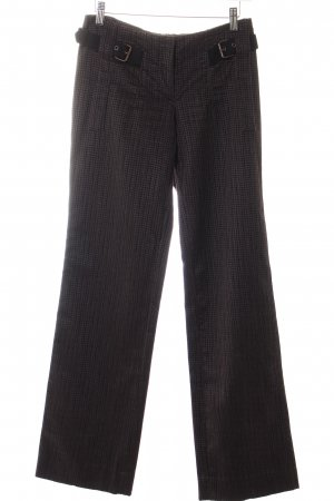 Costume National Cordhose grau Karomuster Retro-Look