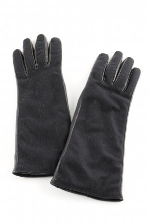 Costume National Gloves black classic style