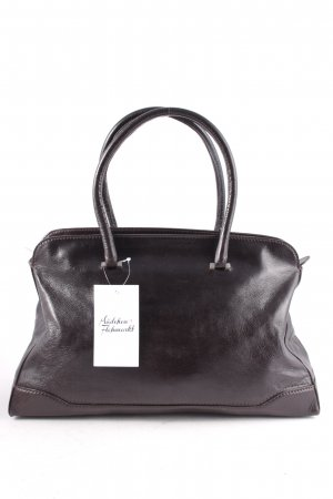 Costume National Carry Bag dark brown business style