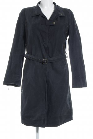 Costume National Trenchcoat dunkelblau Casual-Look