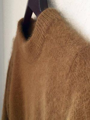 Cosy Angora Kurzpullover Camel Farbe