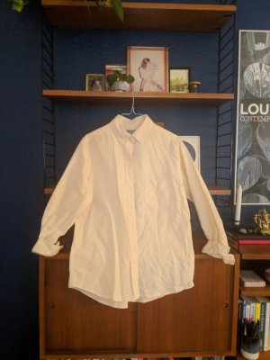Cotten shirt creme / yellow