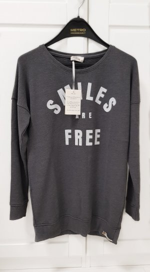 Cotton Candy Sweater S grau