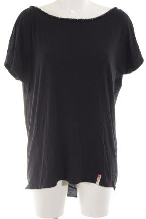 Cotton Candy T-Shirt schwarz Casual-Look