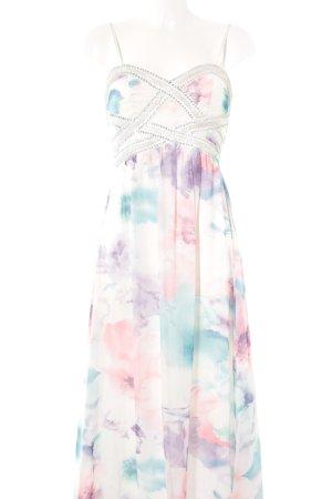Cotton Club Abendkleid abstraktes Muster Elegant