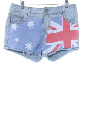 Cotton On Hot Pants himmelblau Jeans-Optik