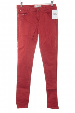 Cotton On Skinny Jeans rot Casual-Look