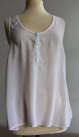 Cotton On Sleeveless Blouse white viscose