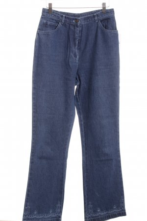 Cotton Traders Boot Cut Jeans blau Casual-Look