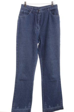 Cotton Traders Boot Cut spijkerbroek blauw casual uitstraling