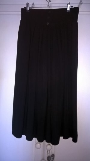 Culotte Skirt black viscose