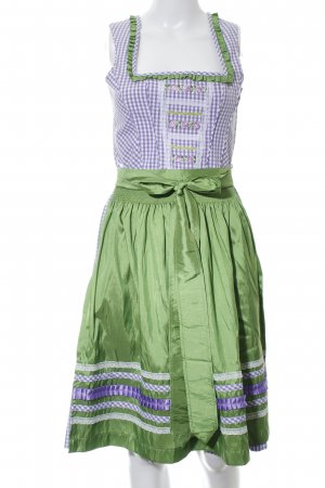 Country Line Dirndl check pattern wet-look