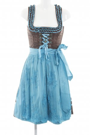 Country Line Dirndl turquoise-brown business style