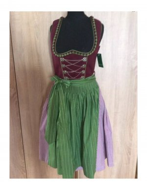 Country Line Dirndl Gr 34/36 Bordeaux Neu