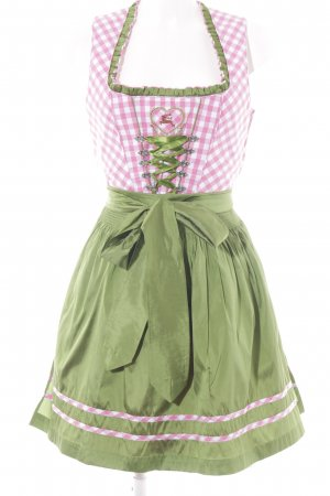 Country Line Dirndl check pattern Metal elements