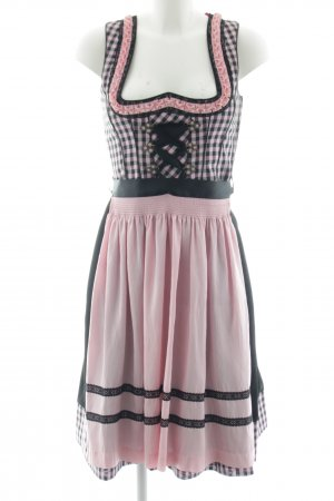 Country Line Dirndl black-pink check pattern classic style