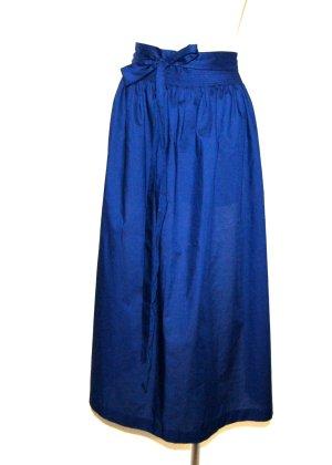 Country Line Folkloristische schort donkerblauw Katoen